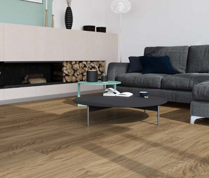 "Linoleum in Holzoptik: Forbo Impressa ""ti9012 pure natural oak"" (Foto: Bricoflor)"