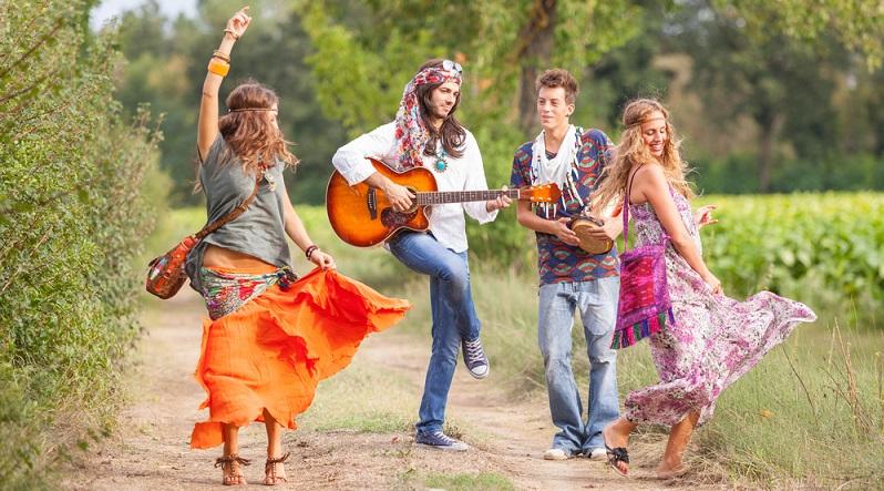Hippie Party: Für dieses Motto sind der Kreativität keine Grenzen gesetzt. (Foto: Shutterstock-William Perugini_)