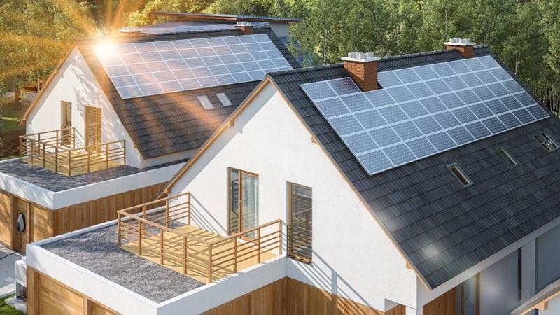 Wieviel Platten auf das Dach montiert werden müssen richtet sich in erster Linie nach dem Stromverbrauch der Bewohner. ( Foto: Shutterstock- Herr Loeffler)