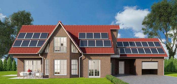 Wieviel Photovoltaik brauche ich für ein Einfamilienhaus? Kosten, Amortisierung, Formeln, Berechnungen ( Foto: Shutterstock- Robert Kneschke )