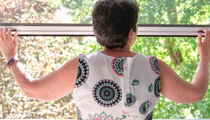Auch am Dachfenster ist es wichtig ein Fliegengitter anzubringen ( Foto: Shutterstock-Ladanifer_)