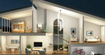 Die richtige Beleuchtung für verschiedene Zimmer im Haus ( Foto: Shutterstock- koya979 )
